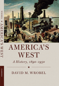 book cover for Americas West